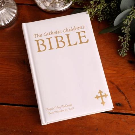 Wedding Bible Engraved by Catholic Children S Bible Personalized