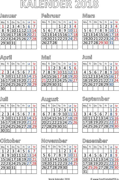 Panama Kalendar 2018 Kalender 2018 Utskriftsvennlig Gratis Utskriftsvennlig Pdf