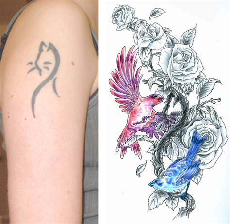 cover up tattoo designs for women