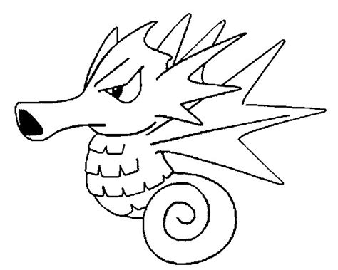 pokemon coloring pages of horsea dibujos para colorear pokemon seadra dibujos pokemon