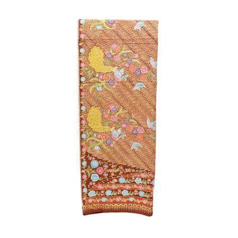 Kain Batik Cap Daun Etnic harga kain sarung motif batik wanita pricenia