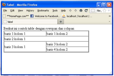 membuat tabel sederhana dengan html membuat tabel dengan html gratis