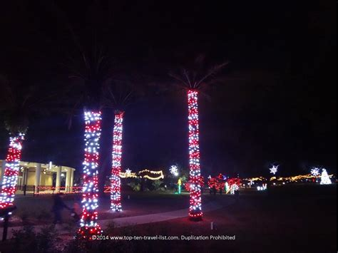 largo central park christmas light display christmas in ta bay snow holiday boat parades tree