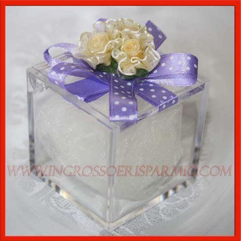 scatole porta confetti scatole portaconfetti economici plex fiocchettino e fiori
