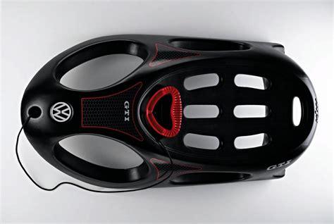 volkswagen accessories volkswagen accessories announces gti sledding bob