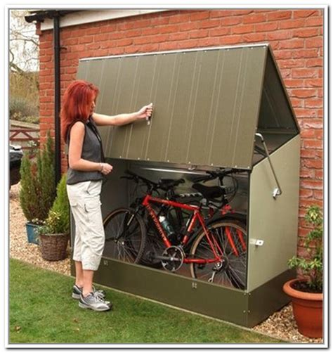 Backyard Storage Ideas Bicycle Storage Solutions With Outdoor Bike Storage Midcityeast