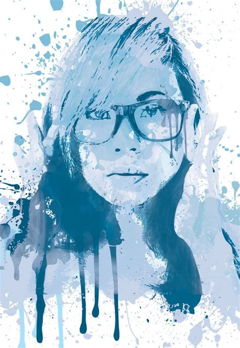 watercolor tutorial illustrator cs6 create a painted portrait effect in illustrator using the