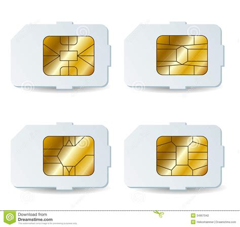 Sim Card Chip Mati sim card set stock photography image 34957042