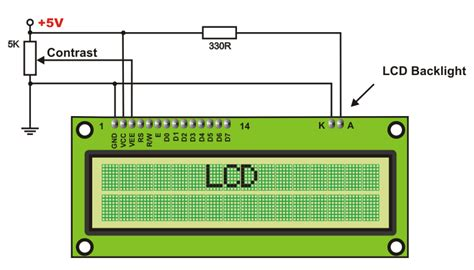 resistor value for lcd backlight 6 2 additional components architecture and programming of 8051 mcus