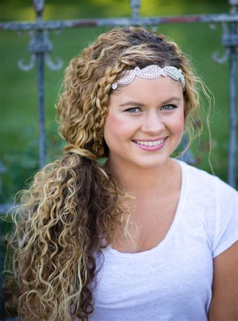 headband hairstyles with curls 12 best hair accessories images on pinterest hair