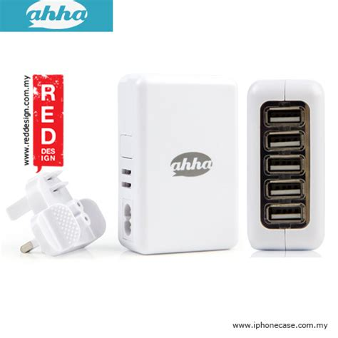 Ahha Car Charger Tripee 42 ahha eagle 5 usb charger at total output 4 2a white