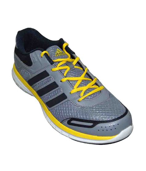 adidas grey and yellow zimo running sport shoes price in india buy adidas grey and yellow zimo