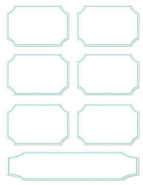 5 Best Images Of Plain Free Printable Labels Diy Printable Labels Color Coded Free Printable Plain Label Template
