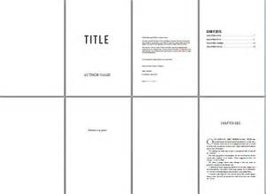 novel template for pages free book design templates and tutorials for formatting in