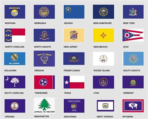 printable us state flags 13 best images about state flags on pinterest