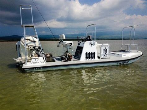 skull island flats boat for sale new one of a kind flats boat finally here bloodydecks