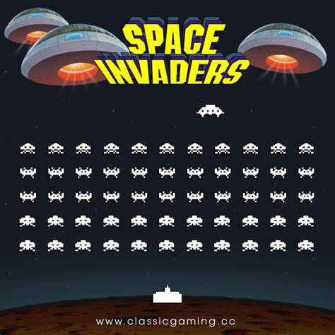 Space Invaders by Space Invaders Graphics And Image Resource From The 1978