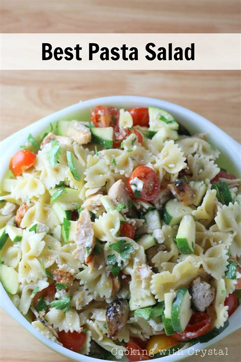 best pasta salad the best summer pasta salad over the big moon