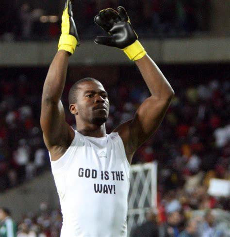 orlando pirates  bafana bafana goalkeeper senzo meyiwa