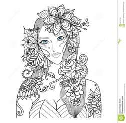 belle 233 234 pour livre coloriage pour adulte illustration vecteur image 63176705