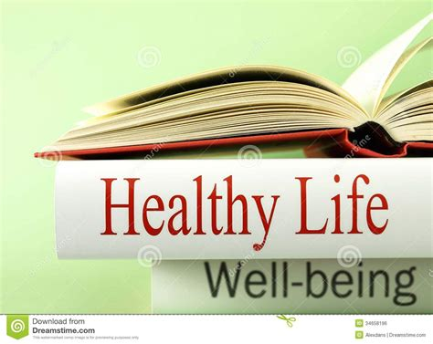 well being books health and wellbeing books royalty free stock image