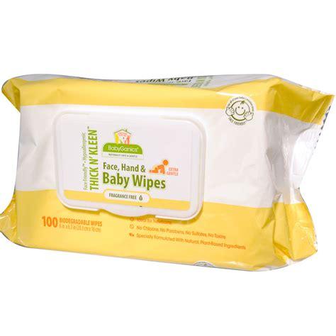 babyganics baby wipes fragrance free 100 wipes iherb