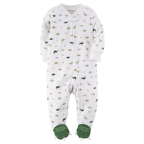 Baby Sleepers by S Newborn Boy S Terry Cloth Sleeper Pajamas