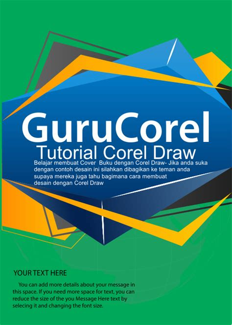 buat cover buku corel cara mudah 20 menit membuat cover buku dengan corel draw