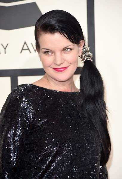 Pauley Hairstyle 2015 by Pauley Perrette Ponytail Pauley Perrette Looks Stylebistro