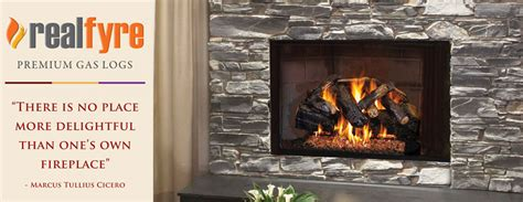 gas logs emberwest fireplace patio the finest