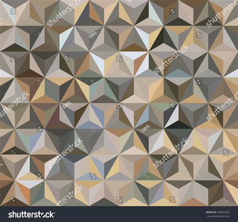 brown geometric pattern brown seamless triangle abstract background pattern stock