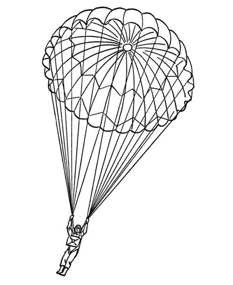 Paratrooper Coloring Pages Az Coloring Pages Parachute Coloring Pages