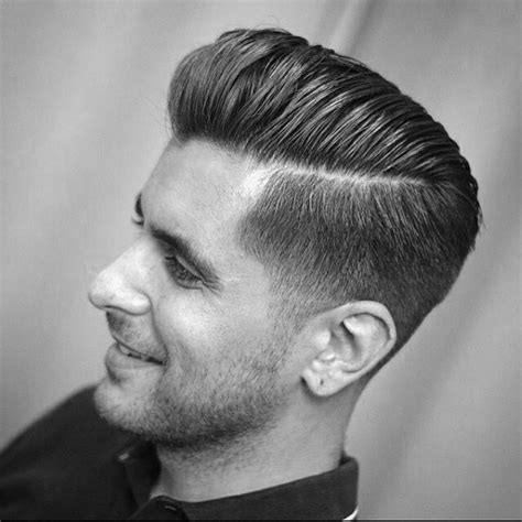 pompadour with hard part 30 hard part haircut ideas peinado de trenza