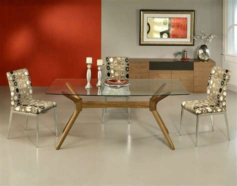 glass table dining room sets complement the decor kitchen with dining room table sets