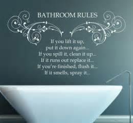 Cute Sayings For Bathroom Walls » Modern Home Design