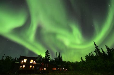 Yukon Winter Playground Northern Lights Yukon Lights