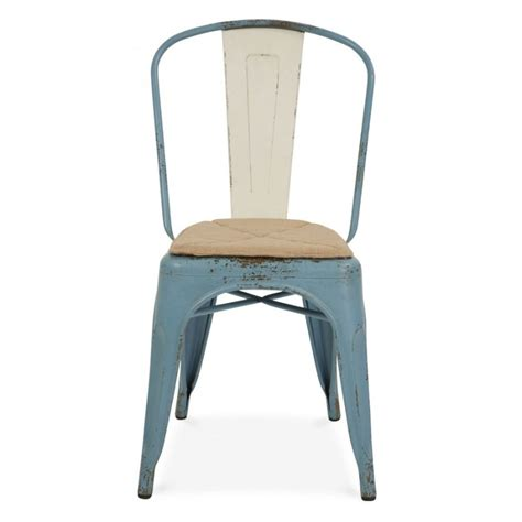 Chaise Style Tolix by Xavier Pauchard Chaise Style Tolix Bleu Vintage R 233 Aliste