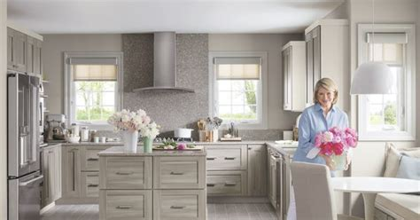new martha stewart living kitchens at the home depot video gardner the latest addition to martha stewart living