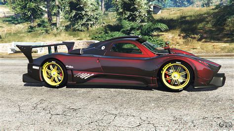 pagani gta 5 pagani zonda r for gta 5
