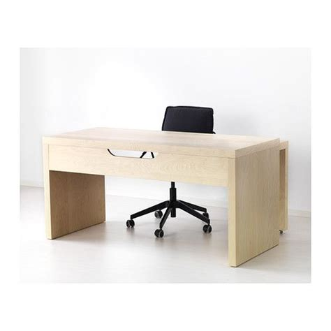 Malm Desk With Pull Out Panel White Shelves Cable And Malm Office Desk