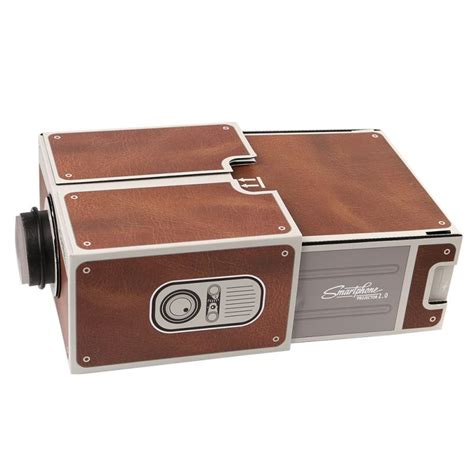 Proyektor Smartphone Portabel Cardboard 2 0 aliexpress buy cardboard smartphone projector 2 0 diy for mobile cell phone portable