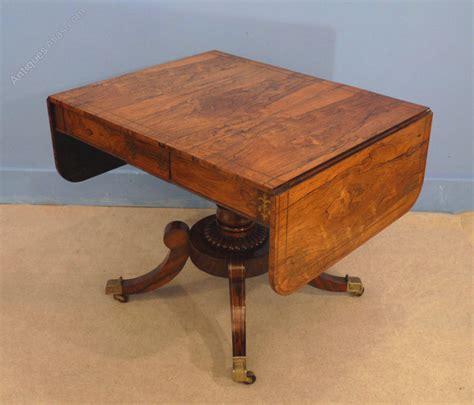 regency rosewood sofa table regency rosewood sofa table antiques atlas