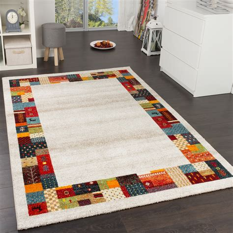 gabbeh teppich modern loribaft border designer rug nomadic rug