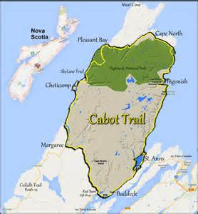 cape breton canada map best 25 cabot trail map ideas on scotia