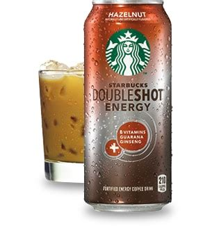 energy drink at starbucks starbucks doubleshot 174 energy hazelnut drink starbucks