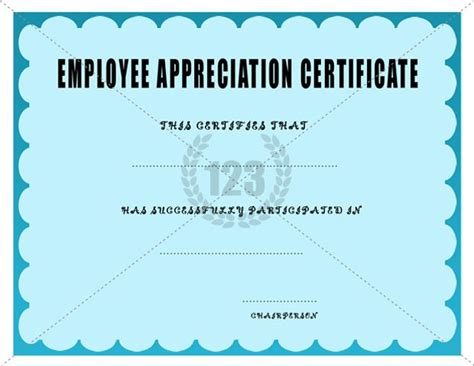 employee recognition certificate template 16 best employee certificate images on