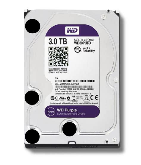 Wd Purple 3 5inch western digital purple western digital 30purx 3tb sata 6