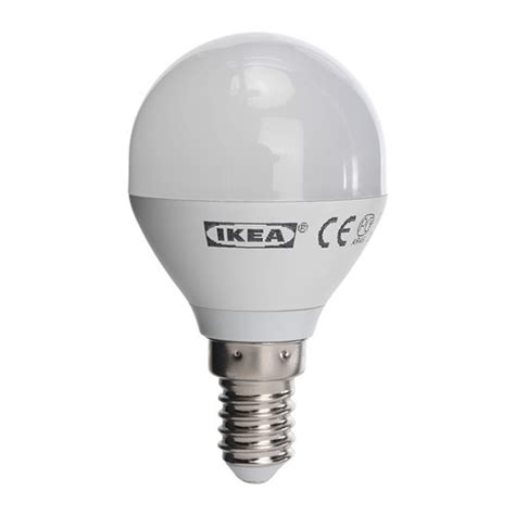 Ledare Led Bulb E14 Ikea Ikea Light Bulbs Led