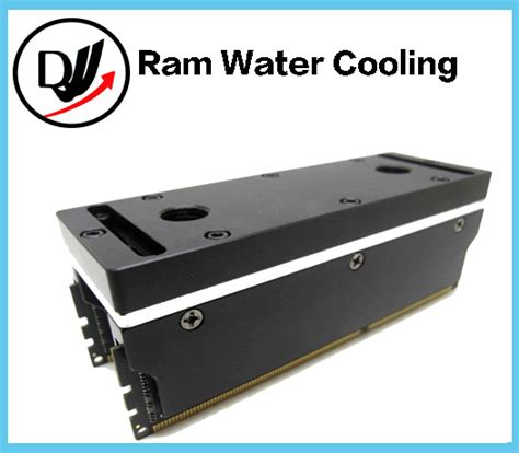 water cooling ram 4 channels memory ram water cooling block with 2 ram vests