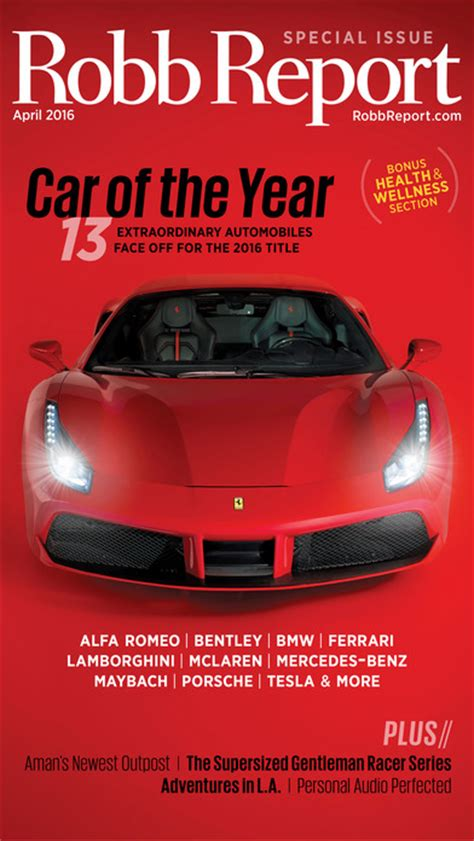 Robb Report Magazine by Robb Report Magazine Best Luxury Cars Watches Etc App Android Apk